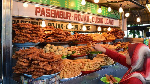 malaysia tersenarai dalam 30 negara yang mempunyai makanan jalanan terbaik
