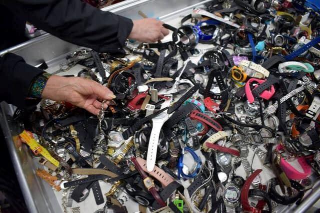 di jepun, peluang untuk jumpai barang hilang adalah lebih 90 peratus
