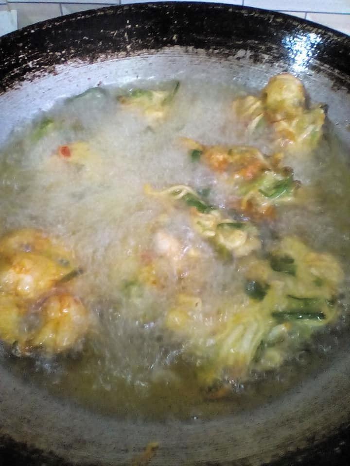 cara membuat cucur udang guna mee segera