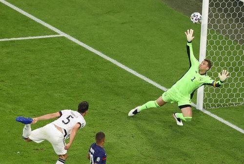 euro 2020: france enjoy lucky win over germany