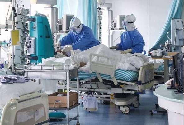 pesakit covid-19 tahap 4 dan 5 meningkat.