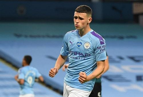 foden tops european 'most valuable' list