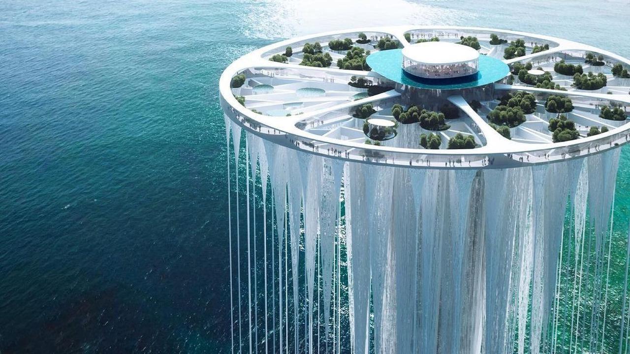 macam dalam filem, china bakal bina kota terapung!