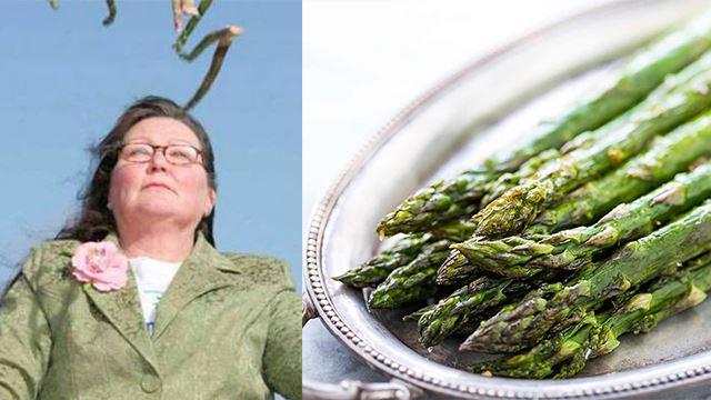 selepas sotong kini ramal guna asparagus pula