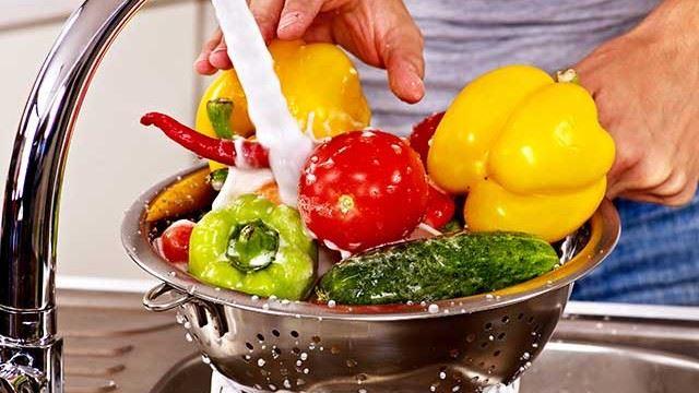 cara betul cuci bersih sayur