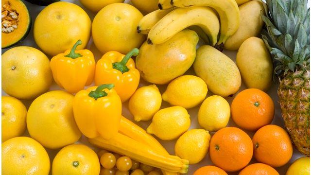kebaikan buah berwarna kuning