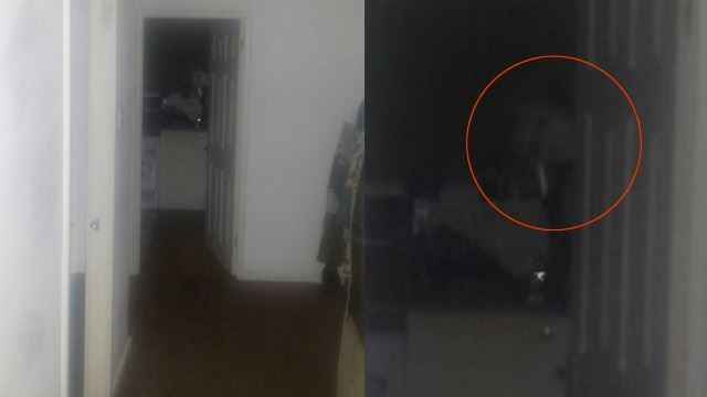lelaki ni terus pindah rumah selepas tertangkap gambar menyeramkan dari dapur