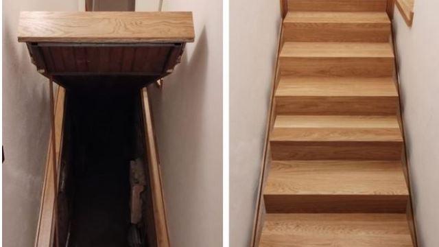 pemilik rumah terjumpa tangga misteri menuju ke bilik rahsia