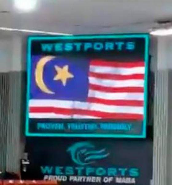 isu bendera malaysia salah, polis mula buka kertas siasatan