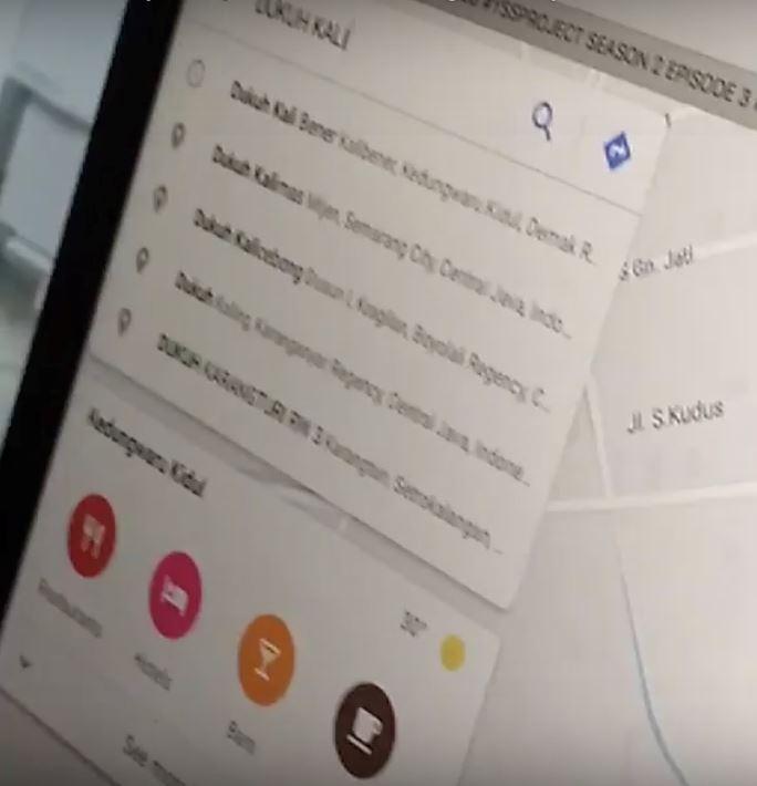 lembaga menyeramkan dalam google maps