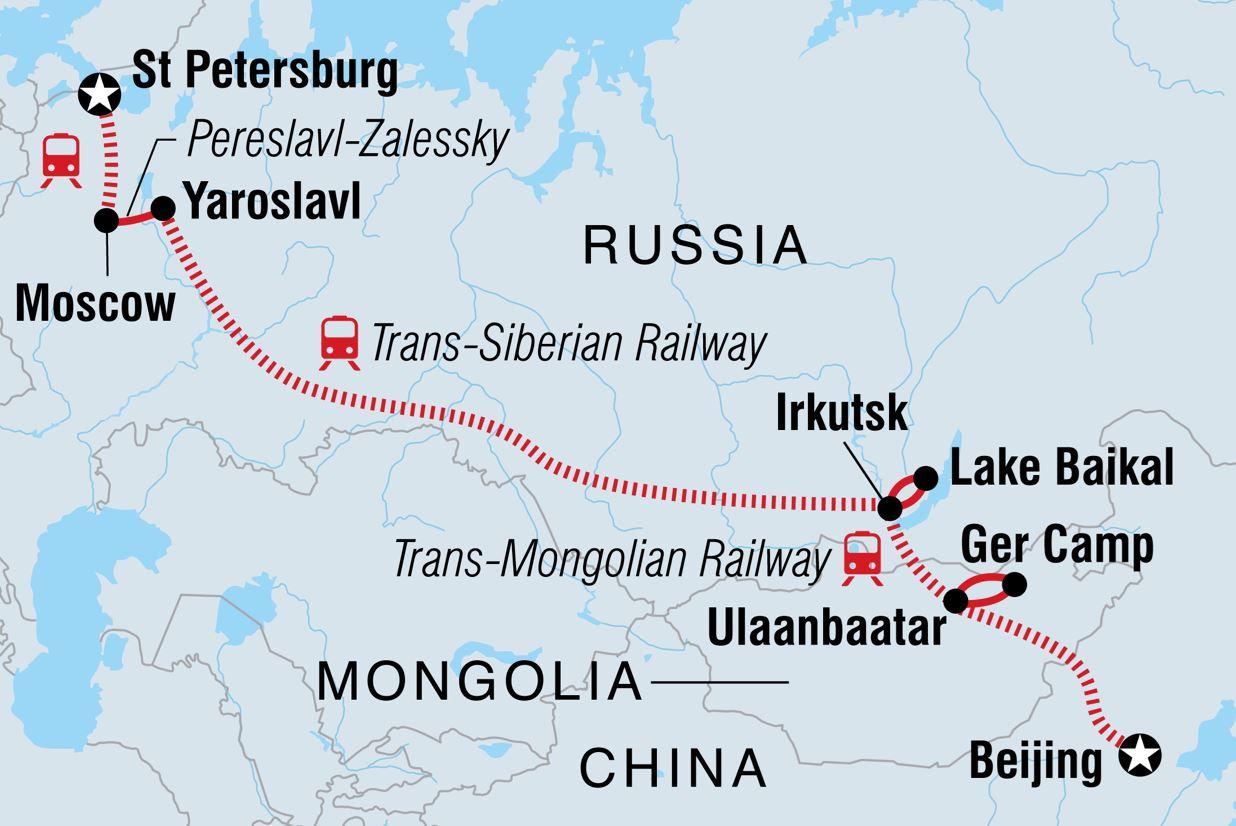 pengalaman seumur hidup - trans siberian railway