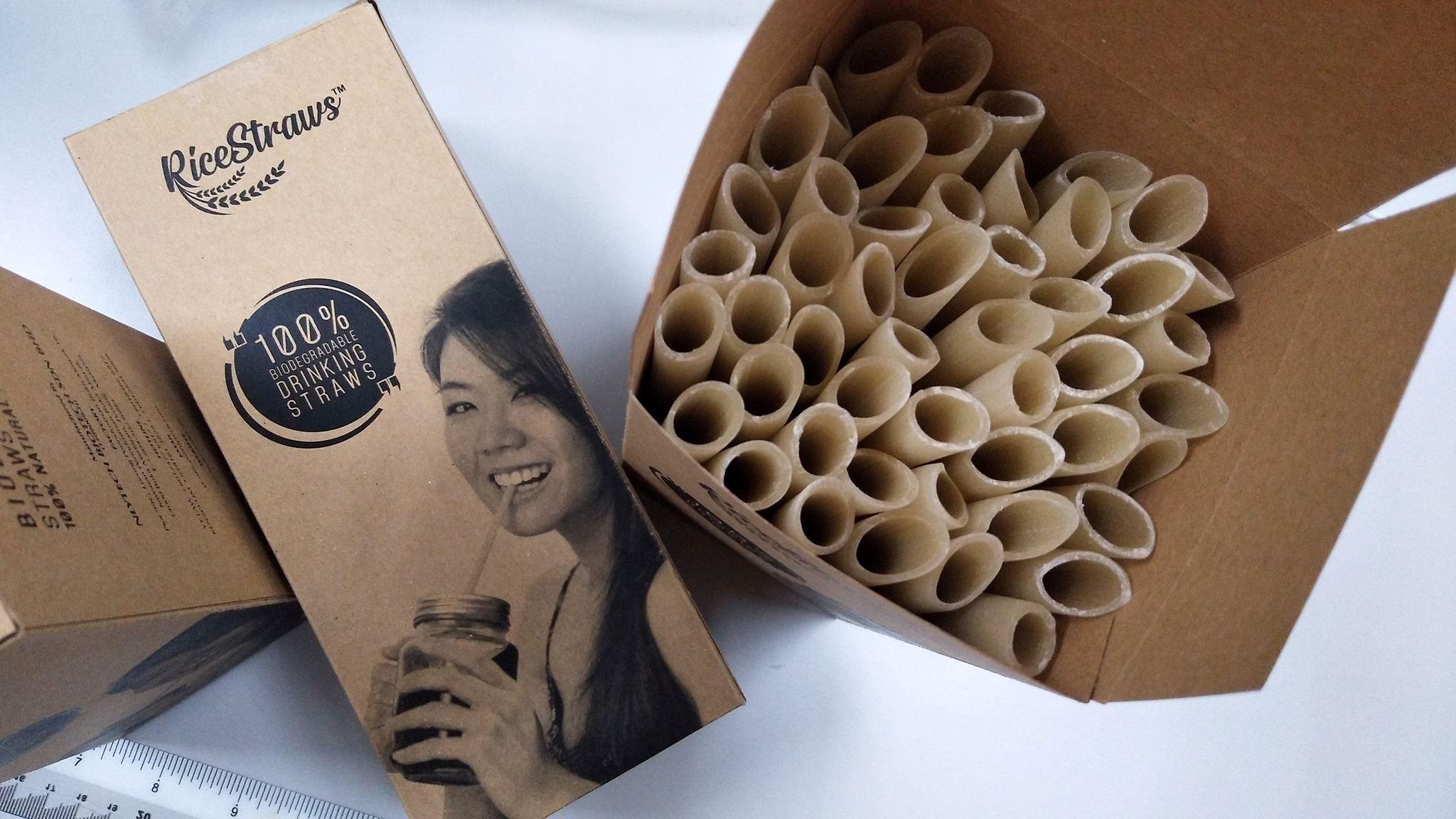 syarikat tempatan cipta straw mesra alam yang boleh dimakan