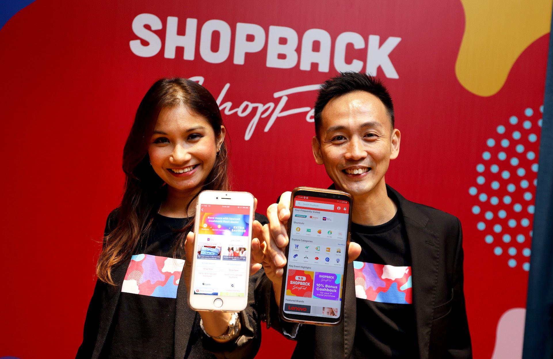 shopback lancar shopback shopfest!