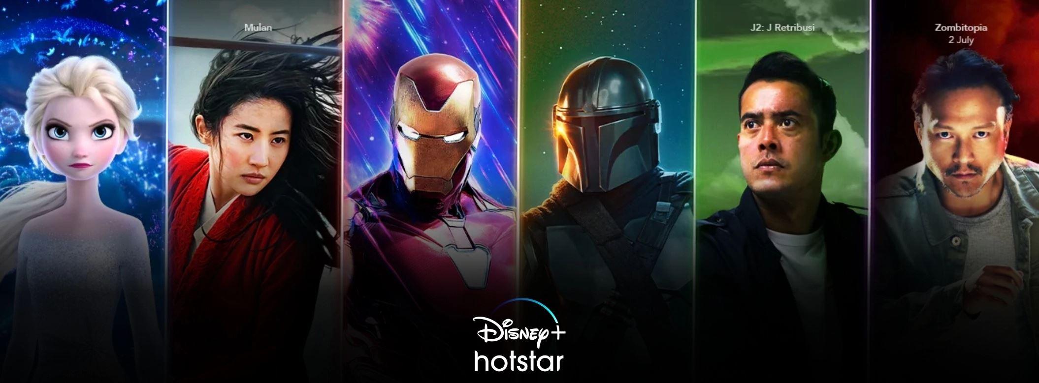 nikmati akses lebih 800 filem terbaik hanya di disney+ hotstar di astro!