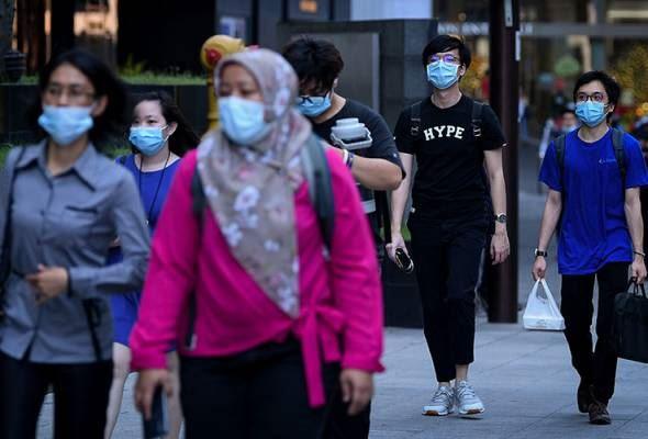 malaysia belum sedia longgar pemakaian face mask walau sudah divaksin