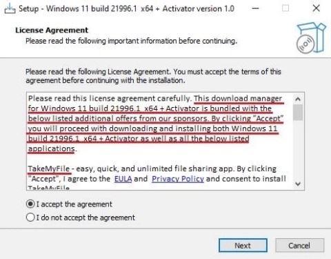 jangan klik mesej pada windows ini, atau komputer anda rosak selamanya