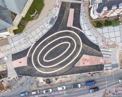 pengguna jalanraya panik lihat rekaan roundabout tiga bulatan