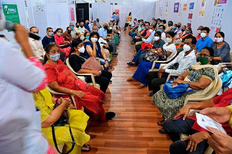 kes positif covid-19 di india turun 90 peratus lepas ramai di vaksin