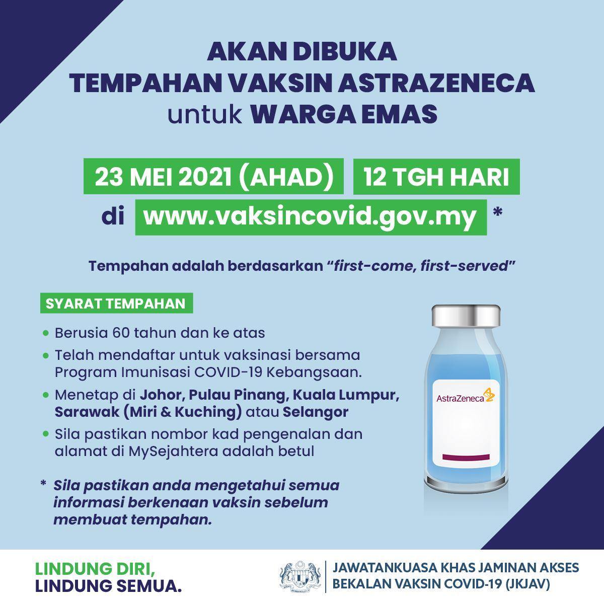kumpulan kedua vaksin astrazeneca selamat tiba di malaysia
