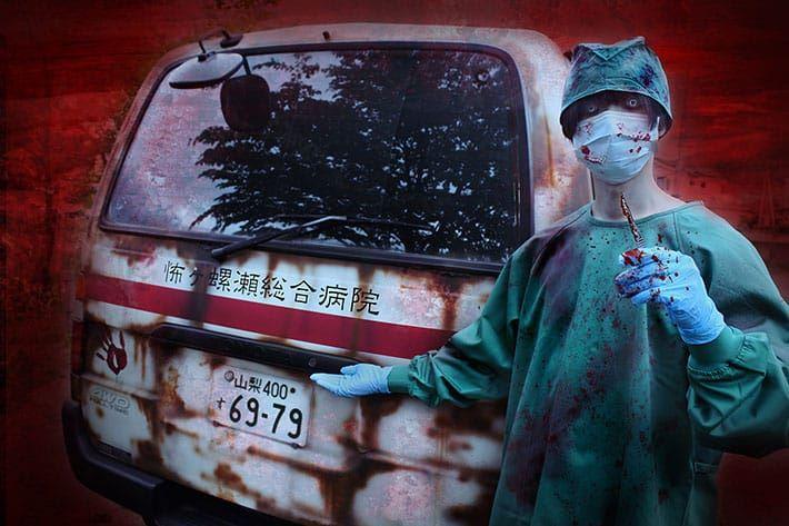 jepun tawar pengalaman seram 'ambulans berhantu', parkir di hadapan rumah pelanggan