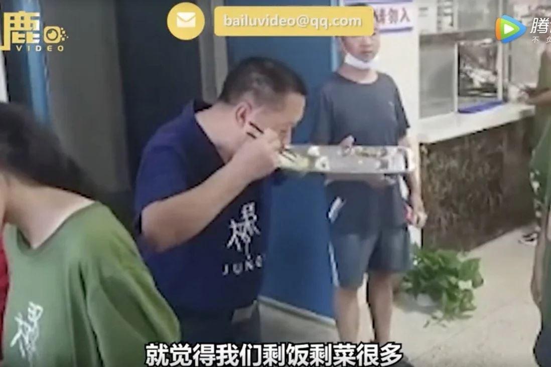 niat ajar tidak membazir, pengetua makan sisa makanan pelajar