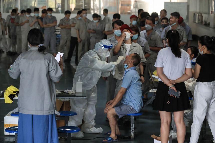 varian delta makin mengganas, rakyat china kini kembali duduk rumah