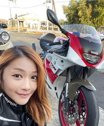 'gadis rider cun' ini rupanya lelaki 50 tahun yang suka guna apps edit gambar
