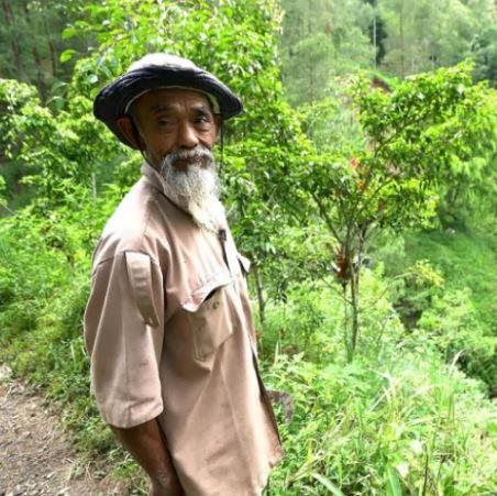 pak cik dari indonesia ini tanam 11, 000 pokok berseorangan