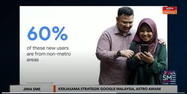 google malaysia, astro awani bantu usahawan kecil & sederhana