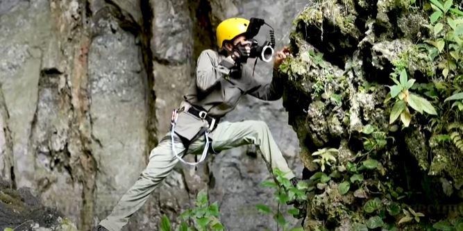 peneroka jumpa banyak spesis hidupan unik dari lubang misteri di china
