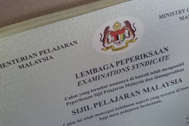 sijil spm dah hilang? ini cara cetak semula keputusan exam lepas