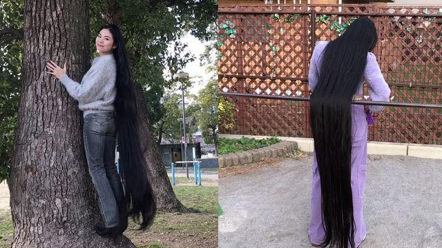 15 tahun tak potong rambut, wanita jepun gelar diri sendiri sebagai rapunzel
