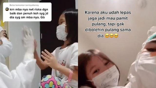 akrab dengan jururawat, kanak-kanak tak nak balik dari hospital walau dah sembuh