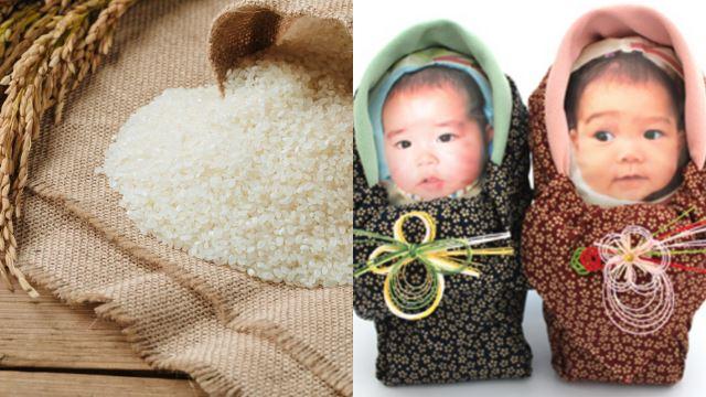 ibu bapa di jepun kirim beg beras berupa bayi untuk dipeluk saudara mara yang tak dapat melawat