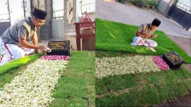lelaki tular kerana semadikan jasad ibu di halaman rumah sendiri