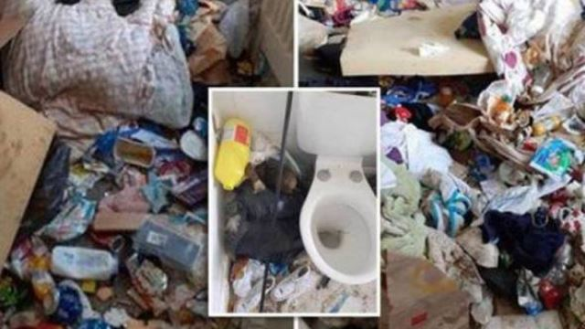 bagai penyewa dari neraka, pemilik rumah tergamam dengan keadaan rumah sewa penuh sampah & najis