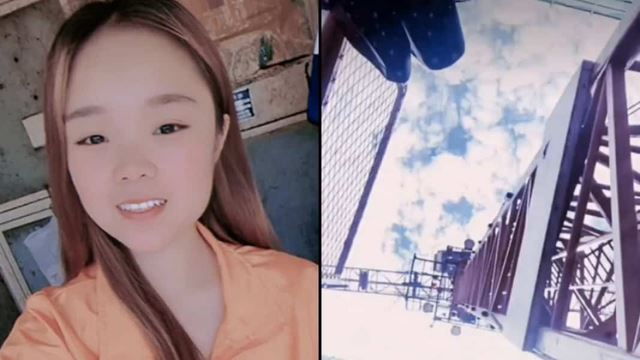 influencer di china maut akibat terjatuh dari kren setinggi 160 kaki ketika buat livestream