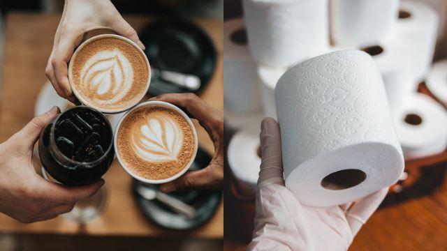 gara-gara panik dengan korona, kafe di australia ini terima bayaran tisu tandas sebagai gantian duit