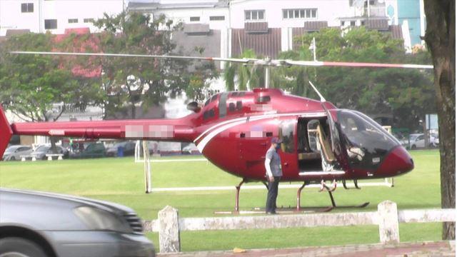 bukan biasa-biasa, 'cod' nasi bungkus pakai helikopter!