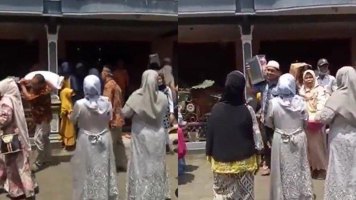 salah ikut google maps, rombongan pengantin tersilap rumah pengantin lain