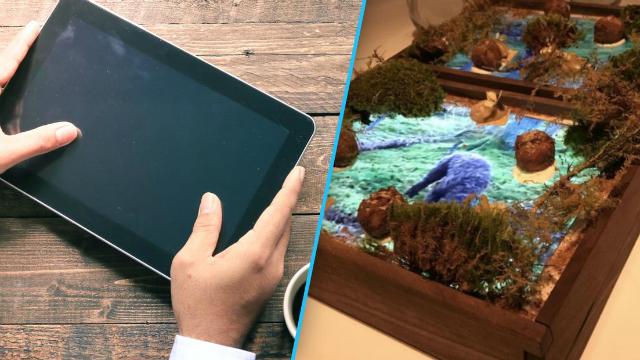 Restoran Ni Dah Kaya Sangat Ke Sampai Guna iPad Sebagai Pinggan?