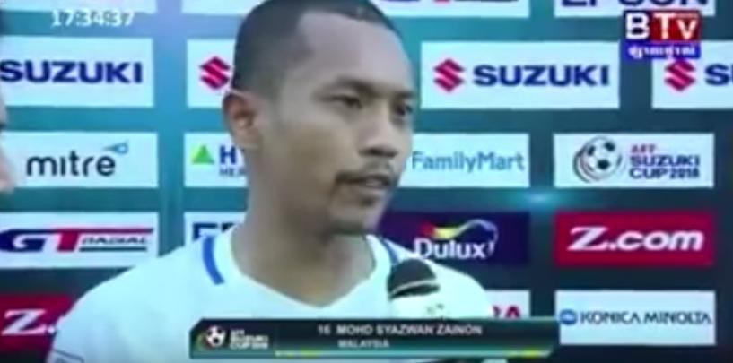 [Video] Berani Untuk Berbahasa Inggeris, Pemain Bola Sepak Malaysia Tambat Hati Rakyat Malaysia