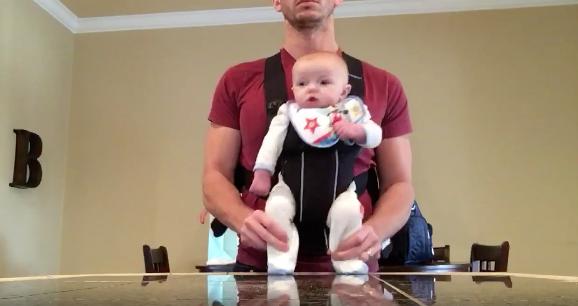 [Video] Ini Jadinya Bila Anak Dibiarkan Sendirian Bersama Bapa Mereka