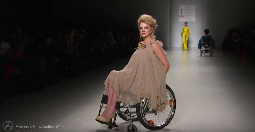 [Video] Fesyen Untuk Semua, Orang Kelainan Upaya  Di Pentas Peragaan