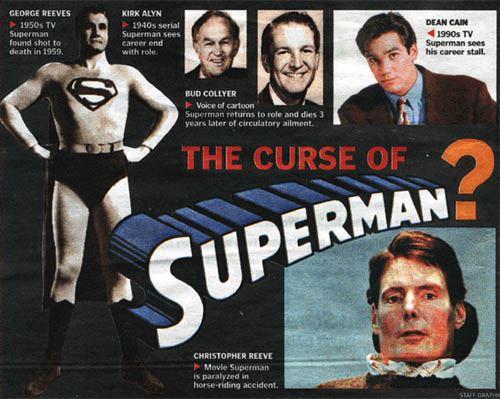 「超人」遭受诅咒?!好诡异啊!