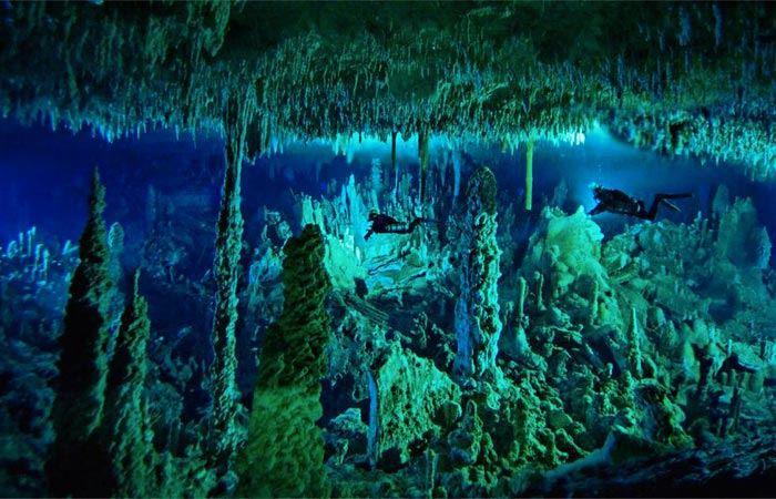水底的神秘迷宫!潜水不能错过的地点!
