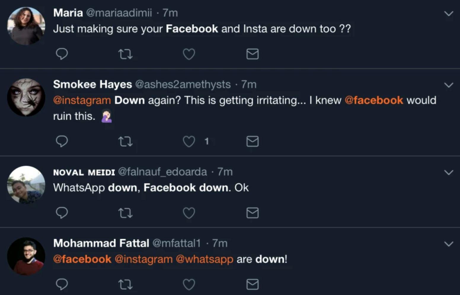 facebook、ig 和 whatsapp 大当机!网络再度瘫痪了!