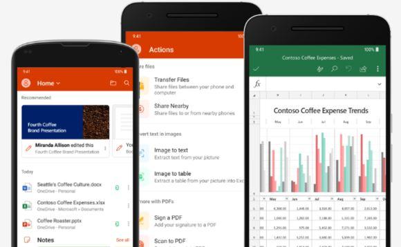 microsoft 推出手机版 office!强大功能人人必备!