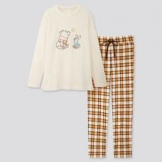 uniqlo推出disney holiday collection系列睡衣!mickey、minnie、winnie 通通有!