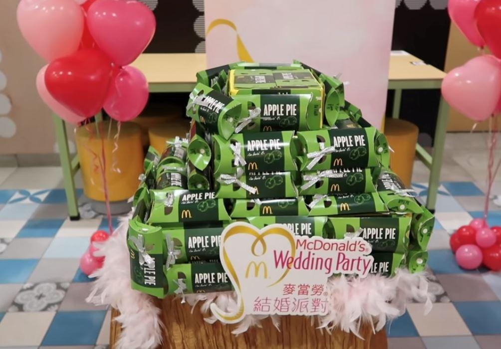 "mcdonald's 也有结婚派对!创意及气氛 ""冇得顶""!"